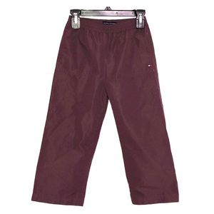 TOMMY HILFIGER Waterproof Activewear Pants Plum
